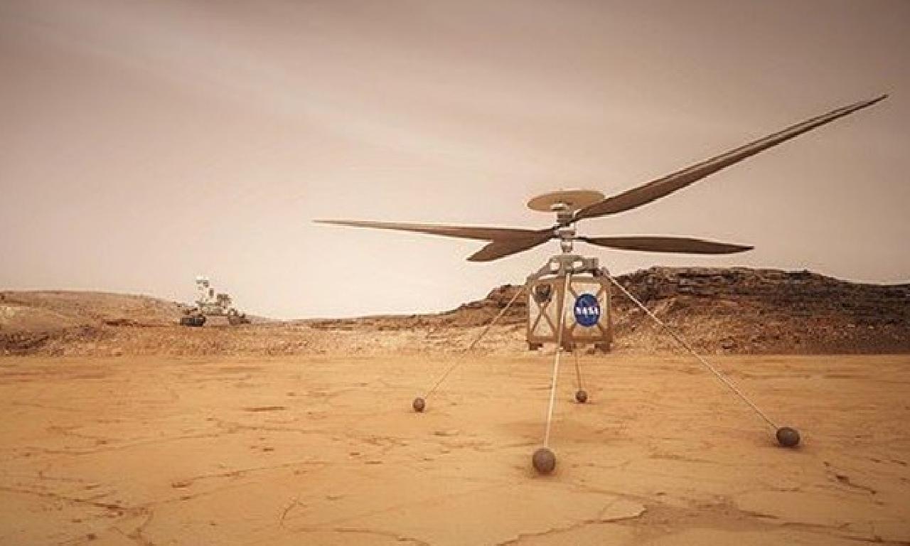NASA'nın 'Mars Helikopteri' için arka sayım başladı