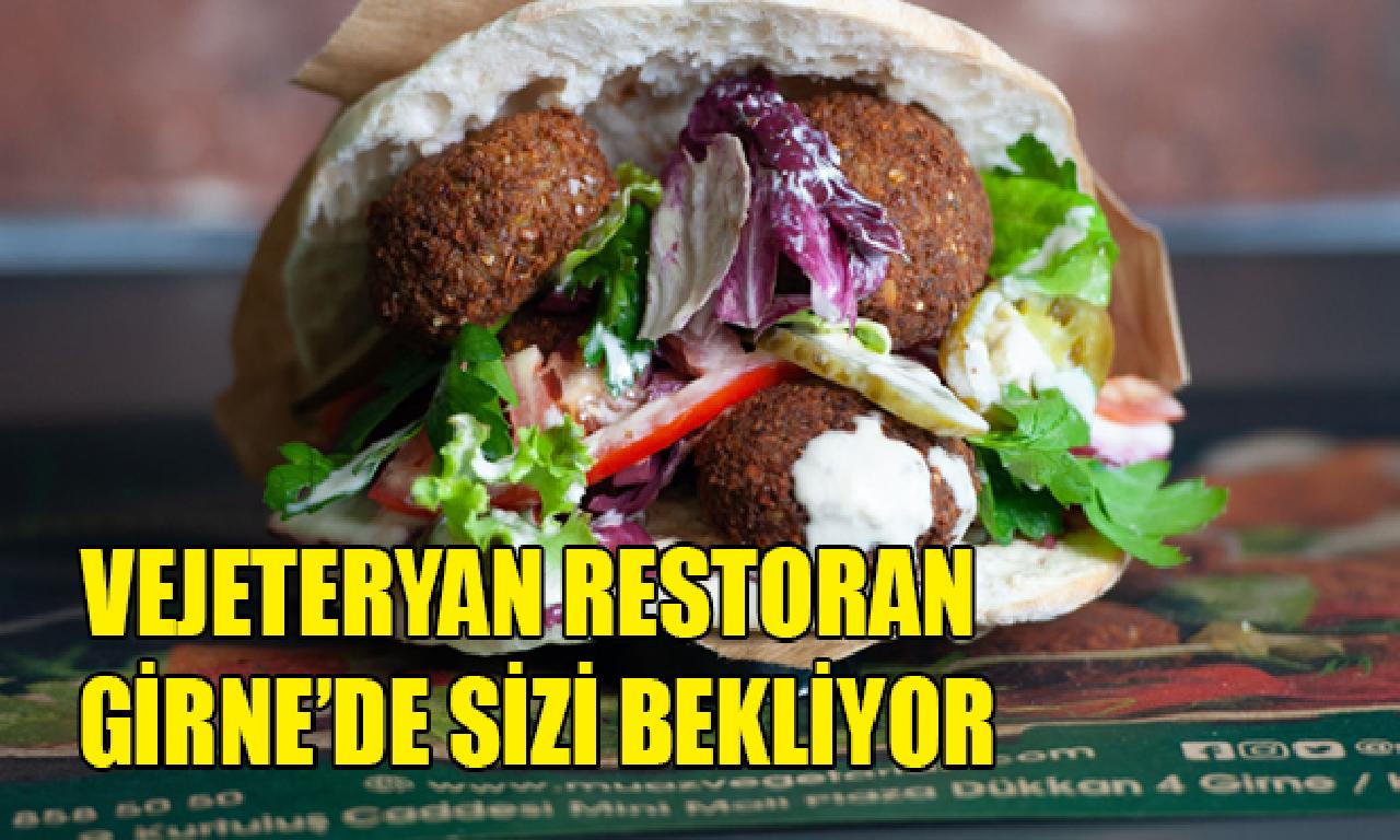 Muaz Vegetarian Restaurant yarın açılıyor