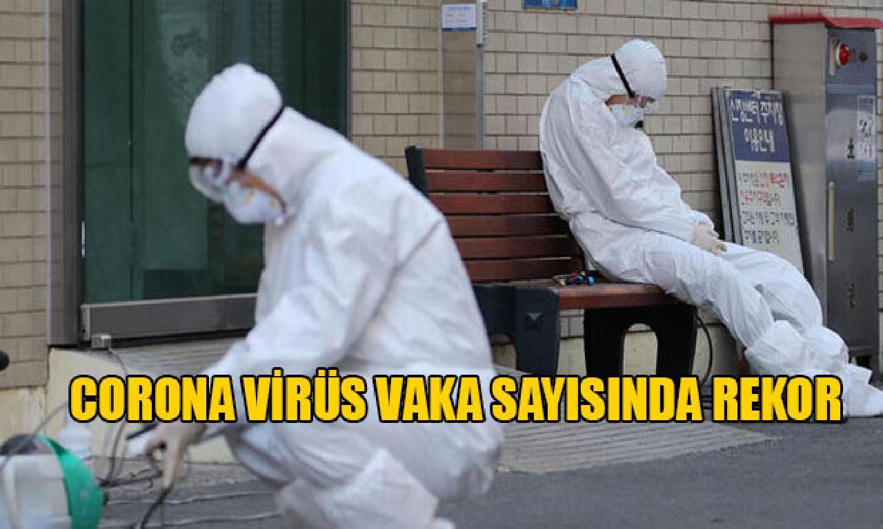 ABD'de Günlük Koronavirüs olay sayısında erişim