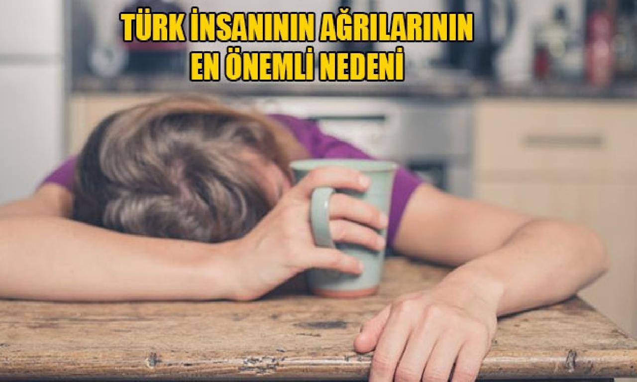 Türk insanının ağrılarının genişlik önemli nedeni yerde
