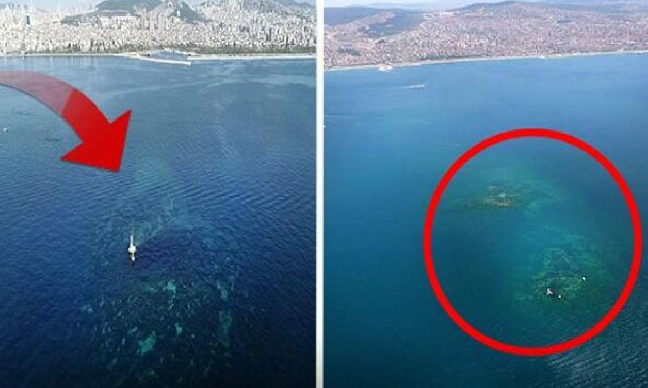 İstanbul'da açık deniz altındaki gizem!