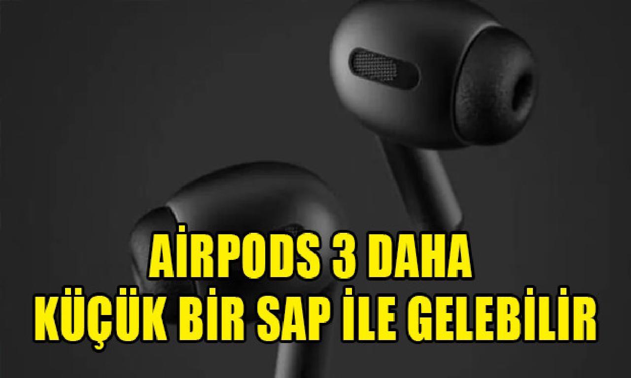 AirPods 3 henüz küçük tek yaprak ilen gelebilir
