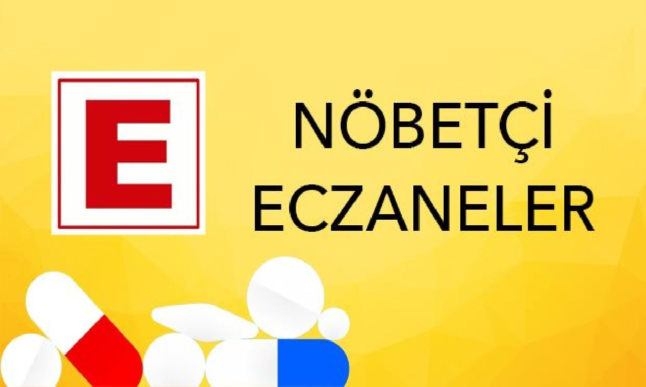 Nöbetçi Eczaneler -  10 Temmuz 2020