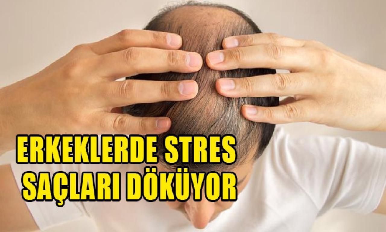 Erkeklerde üzüntü saçları döküyor