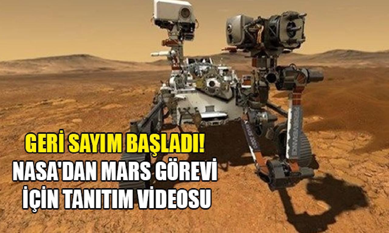 NASA'dan Mars görevi için tanıtım videosu