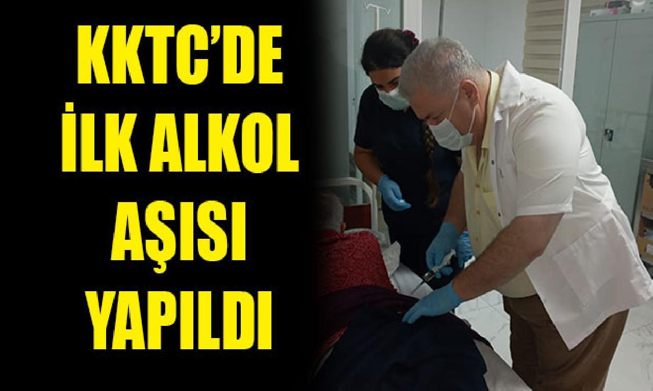 KKTC'de altu bira aşısı Pembe Köşk'te yapıldı