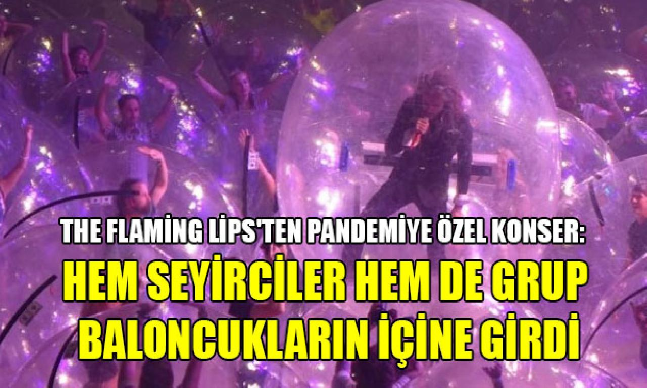 The Flaming Lips'ten pandemiye özel dinleti