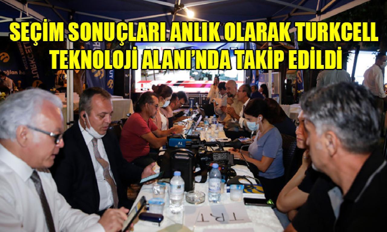 Seçim sonuçları anlık namına Turkcell Teknoloji Alanı'nda izleme edildi