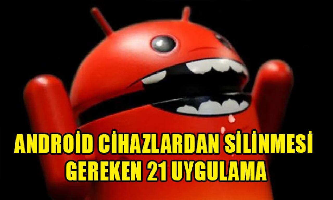 Android cihazlardan silinmesi mukteza 21 tatbik