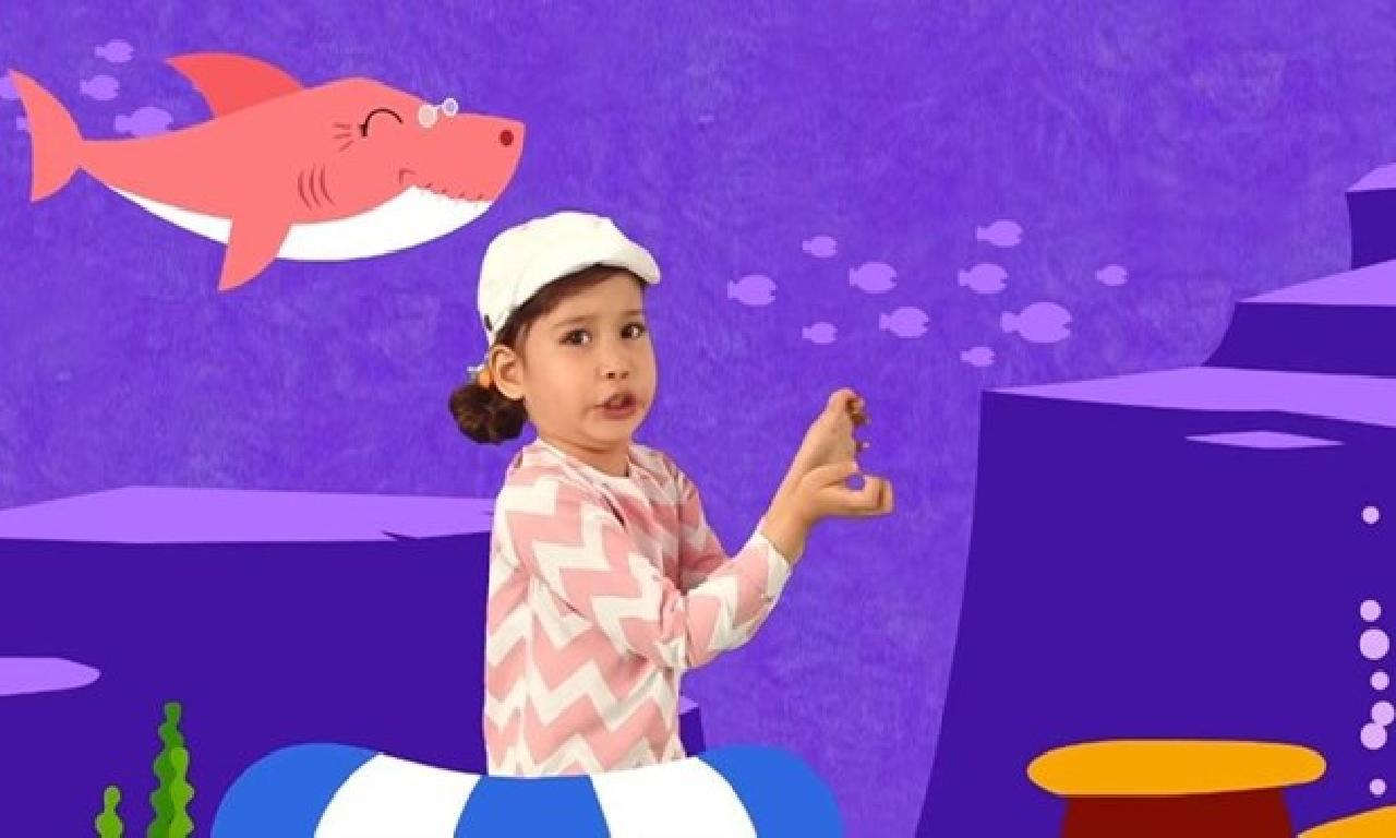 Baby Shark YouTube'da tüm zamanların genişlik çok izlenen videosu evet
