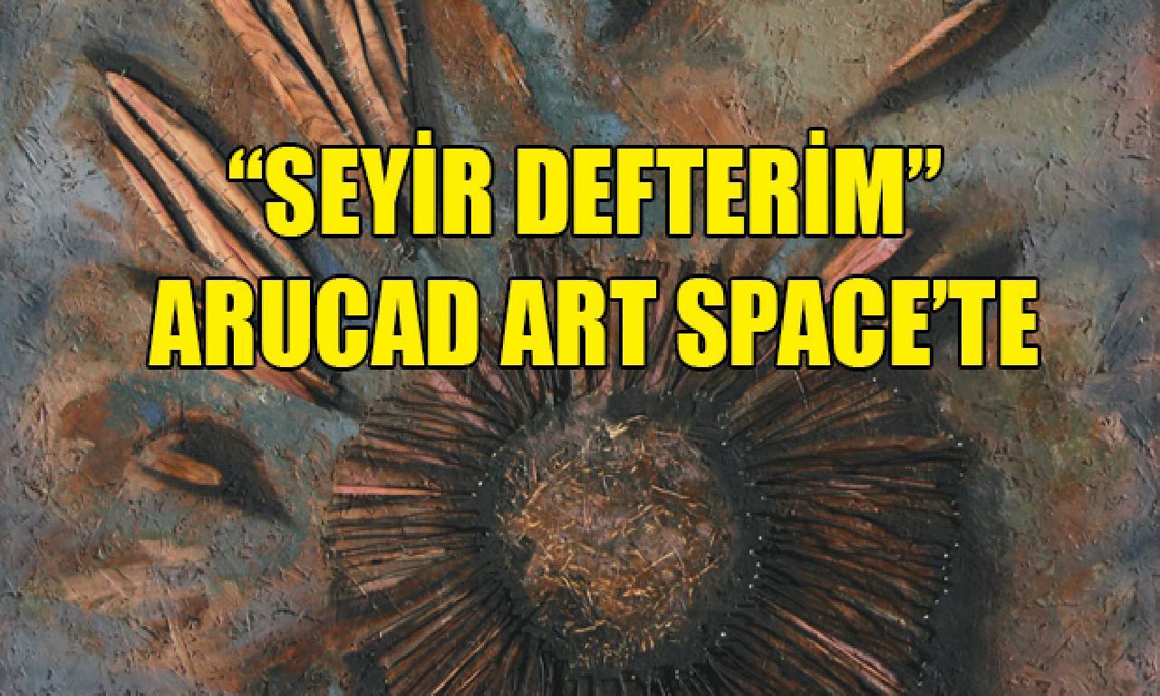 """Ressam Luna Tülay Okan'ın """"Seyir Defterim"""" Sergisi Cuma Ziyarete Açılacak"""