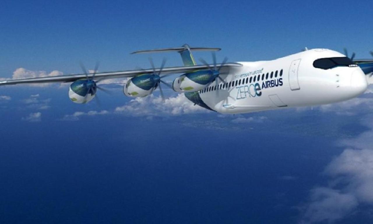 Airbus rengi yakıtlı uçak için çalışıyor