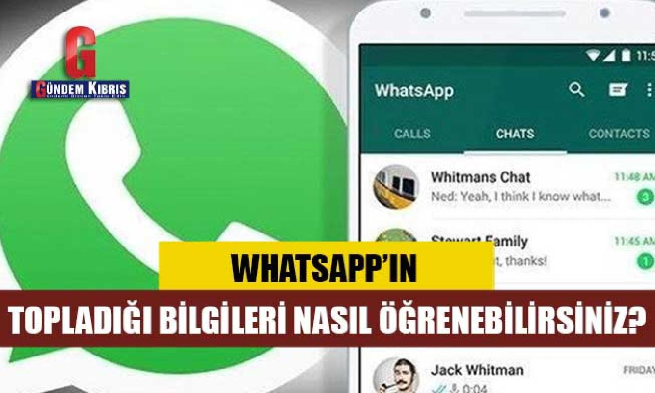 WhatsApp ne verileri topluyor?