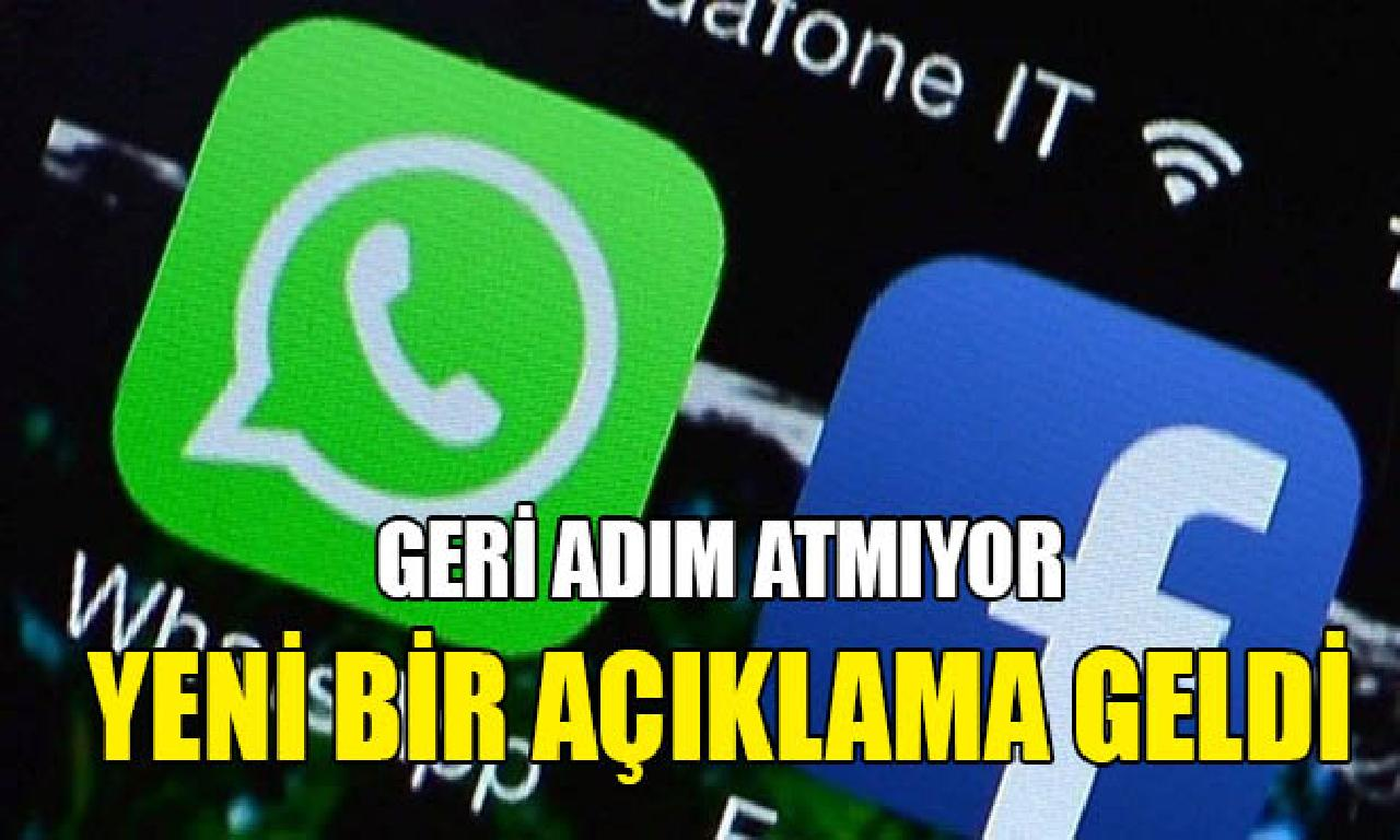 WhatsApp arka adım atmıyor: Uyarı mesajı yayınlayacağız