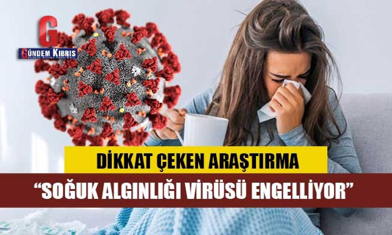 Araştırma: Soğuk algınlığı virüse karşı üstün geliyor