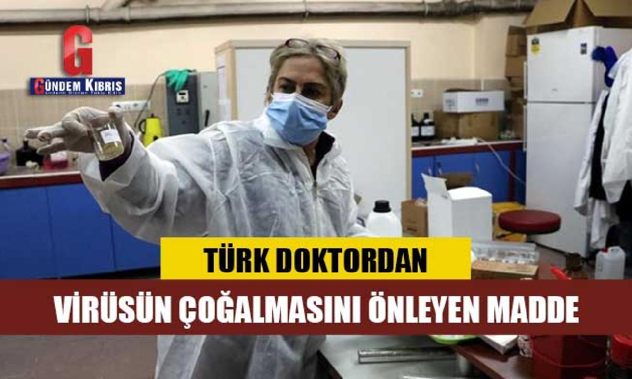 Doç. Dr. Zuhal Gerçek virüsün vücutta çoğalmasını frenleyici müessir yasa geliştirdi