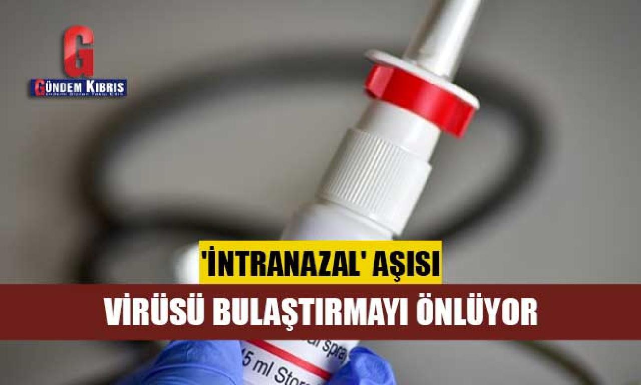 Prof. Dr. Ceyhan: 'İntranazal' aşısı virüsü bulaştırmayı önlüyor