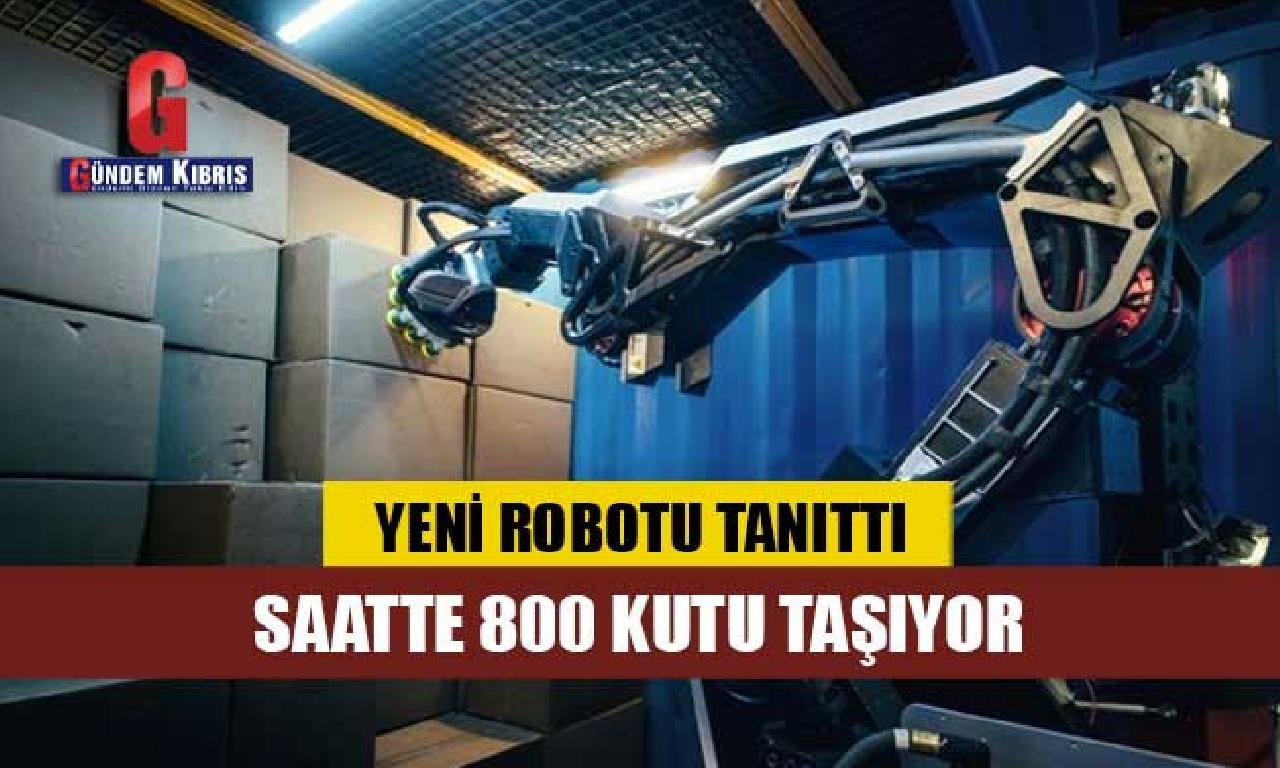 Boston Dynamics görülmemiş robotu Stretch'i tanıttı