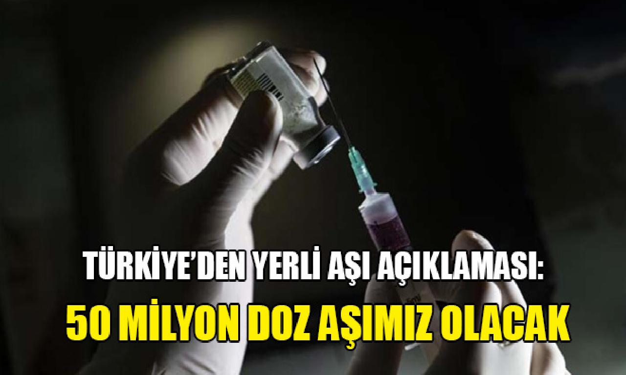 Varank'tan otokton aşı açıklaması: 50 1000000 düze aşımız olması