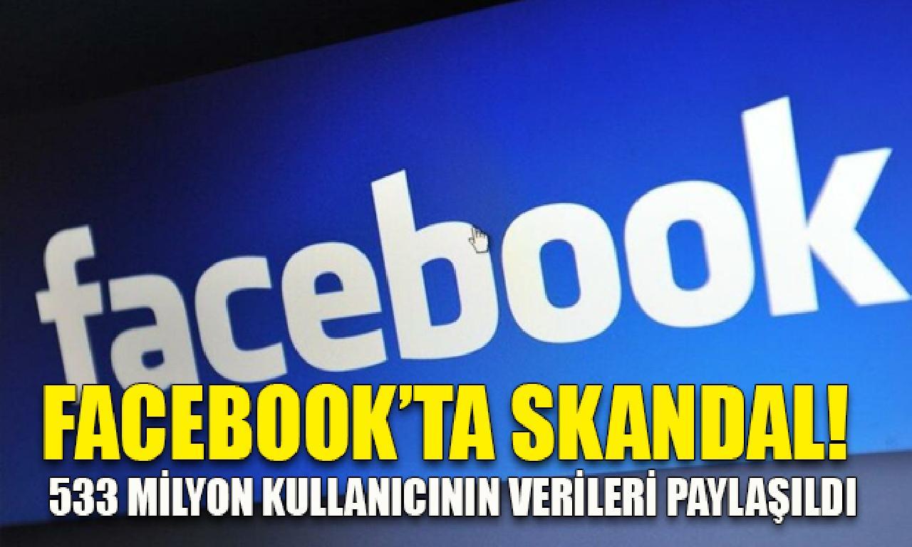 Facebook kullanıcılarının bilgileri sızdırıldı