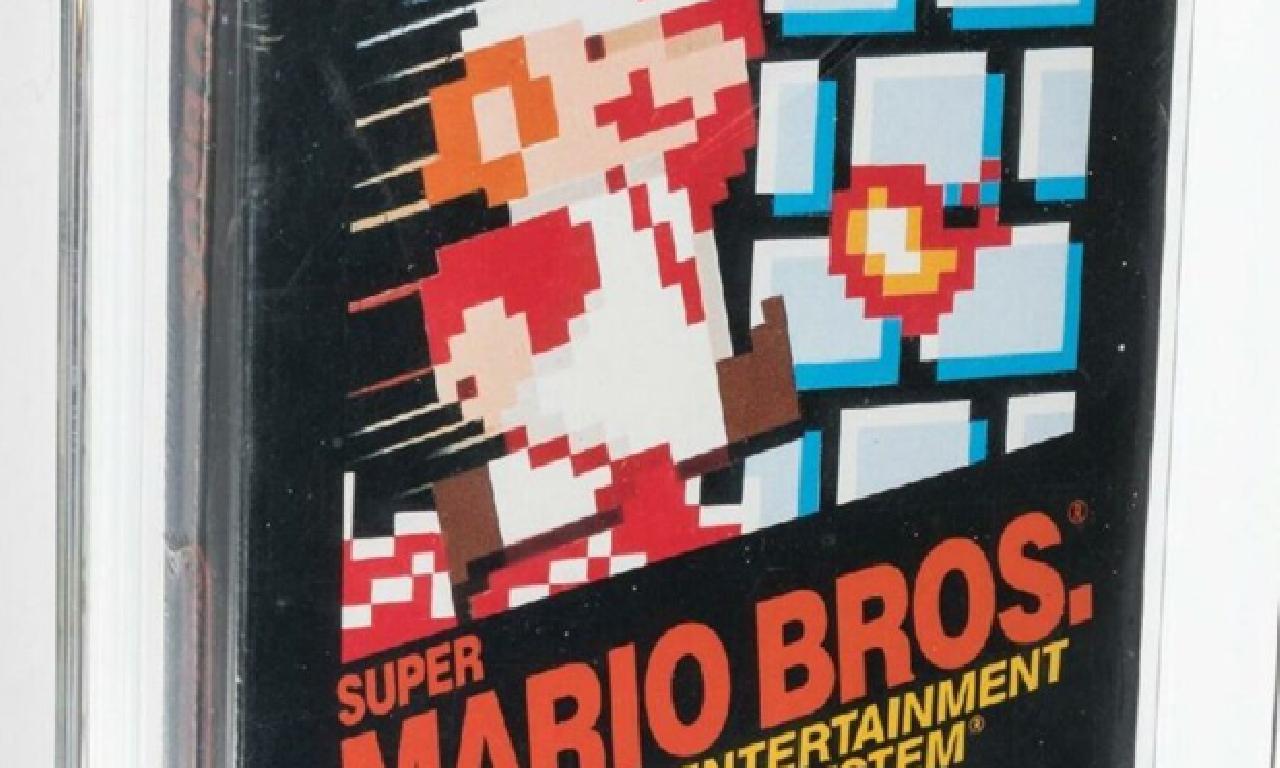Super Mario'un unutulmuş kopyası 660 1000 dolara satıldı