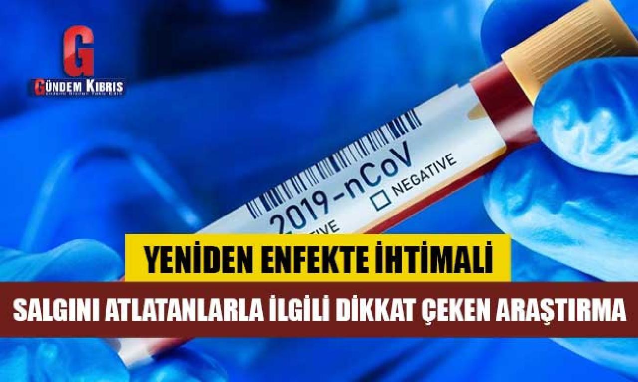 Lancet: Covid geçirenler gene enfekte olur