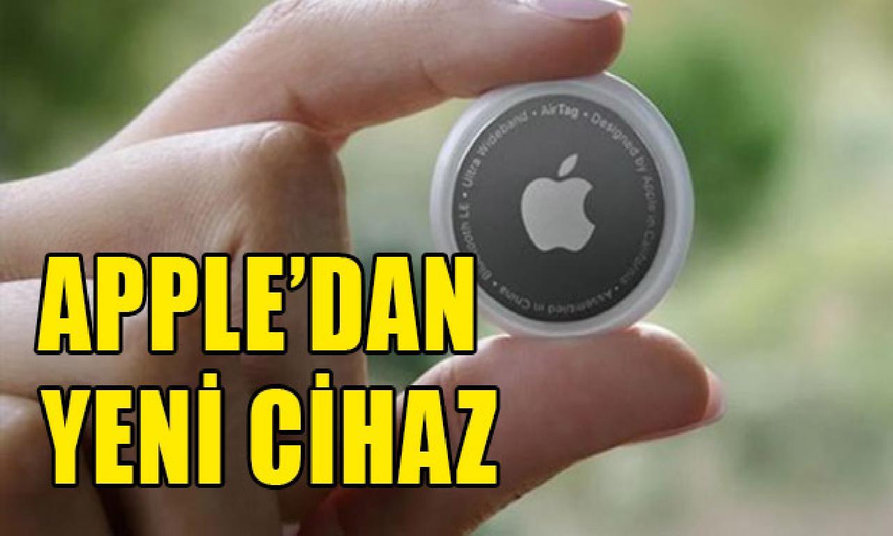 Apple eşyaların takibi için AirTag'i duyurdu