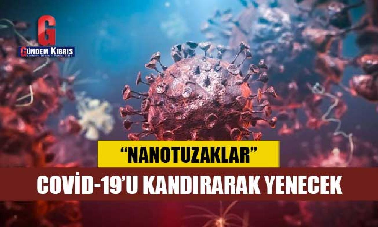Bilim insanları Covid-19'u tuzağa düşürmek istiyor: Nanoparçacık tasarlandı