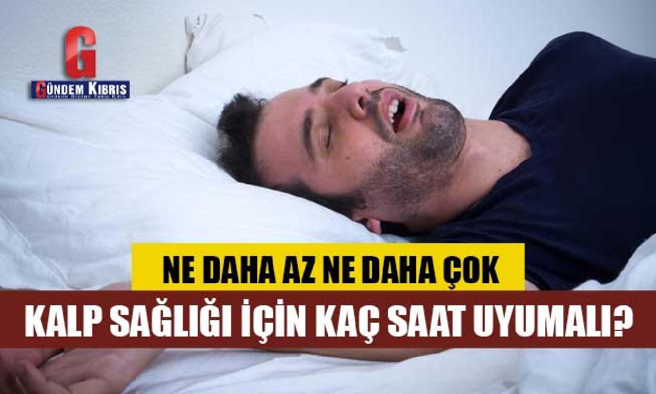 Araştırma: 6 ila 7 vakit geceleyin uykusu yürek sağlığı için henüz faydalı olur