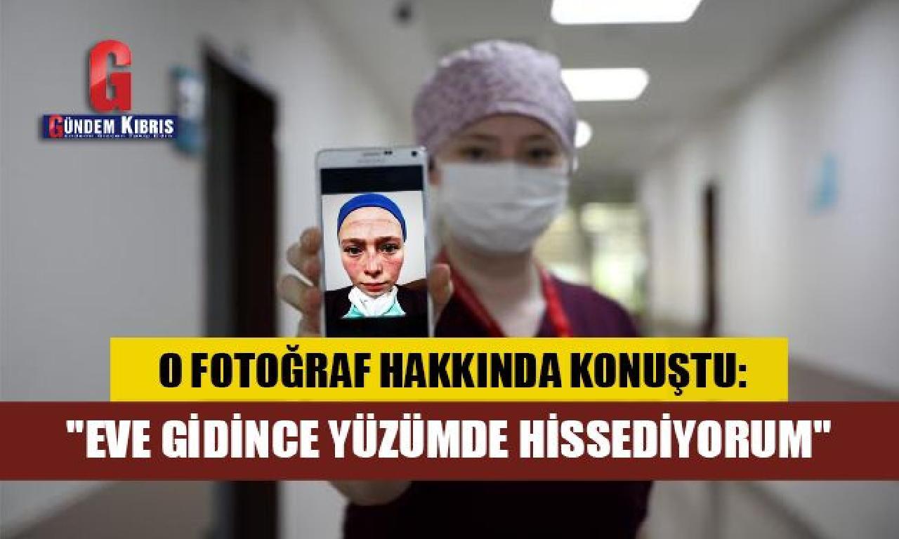 Seher hemşire, toplumsal medyayı sallayan fotoğraf hakkında konuştu
