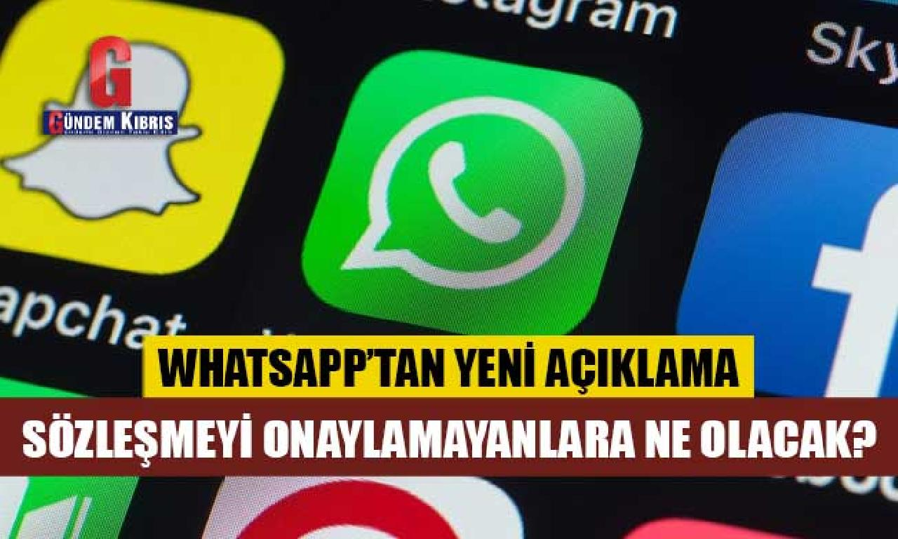 WhatsApp'tan halvet sözleşmesi açıklaması: Onaylamayanlara hangi olacak?