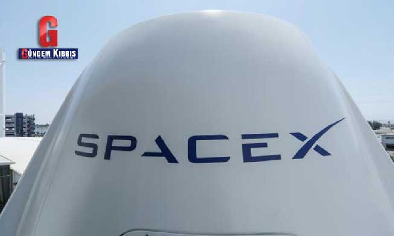 7 tonluk peyk SpaceX roketiyle uzayda