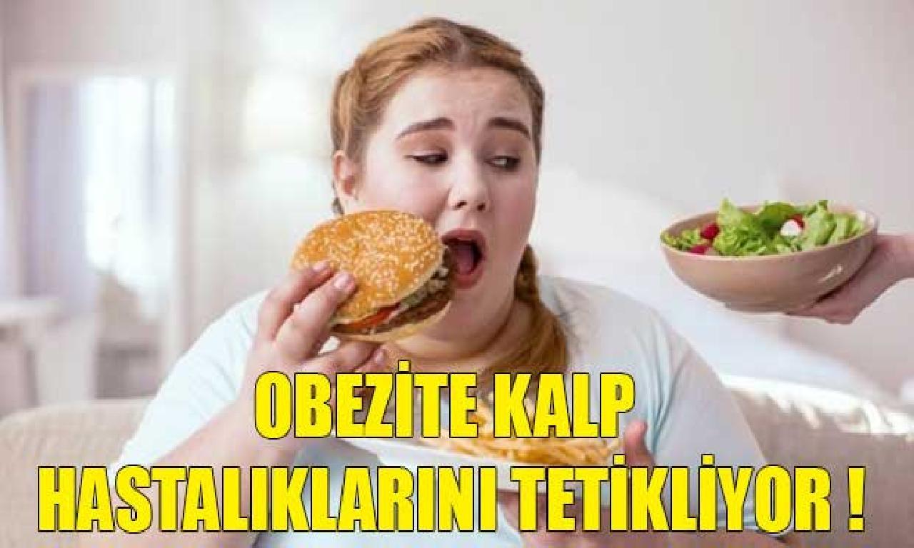 Obezite Kalp Hastalıklarını Tetikliyor !