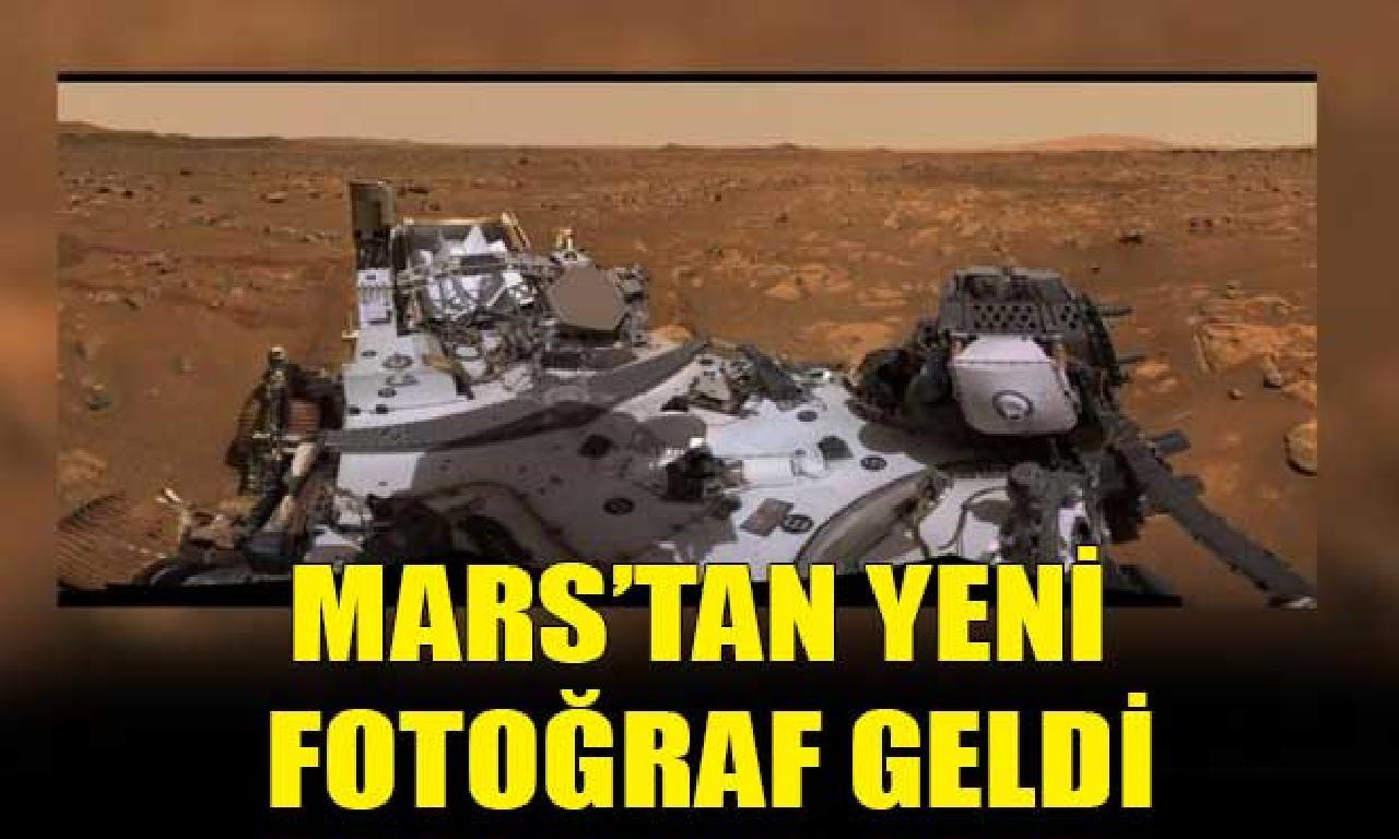Mars'taki keşif aracından 360 derecelik toplu görünüm