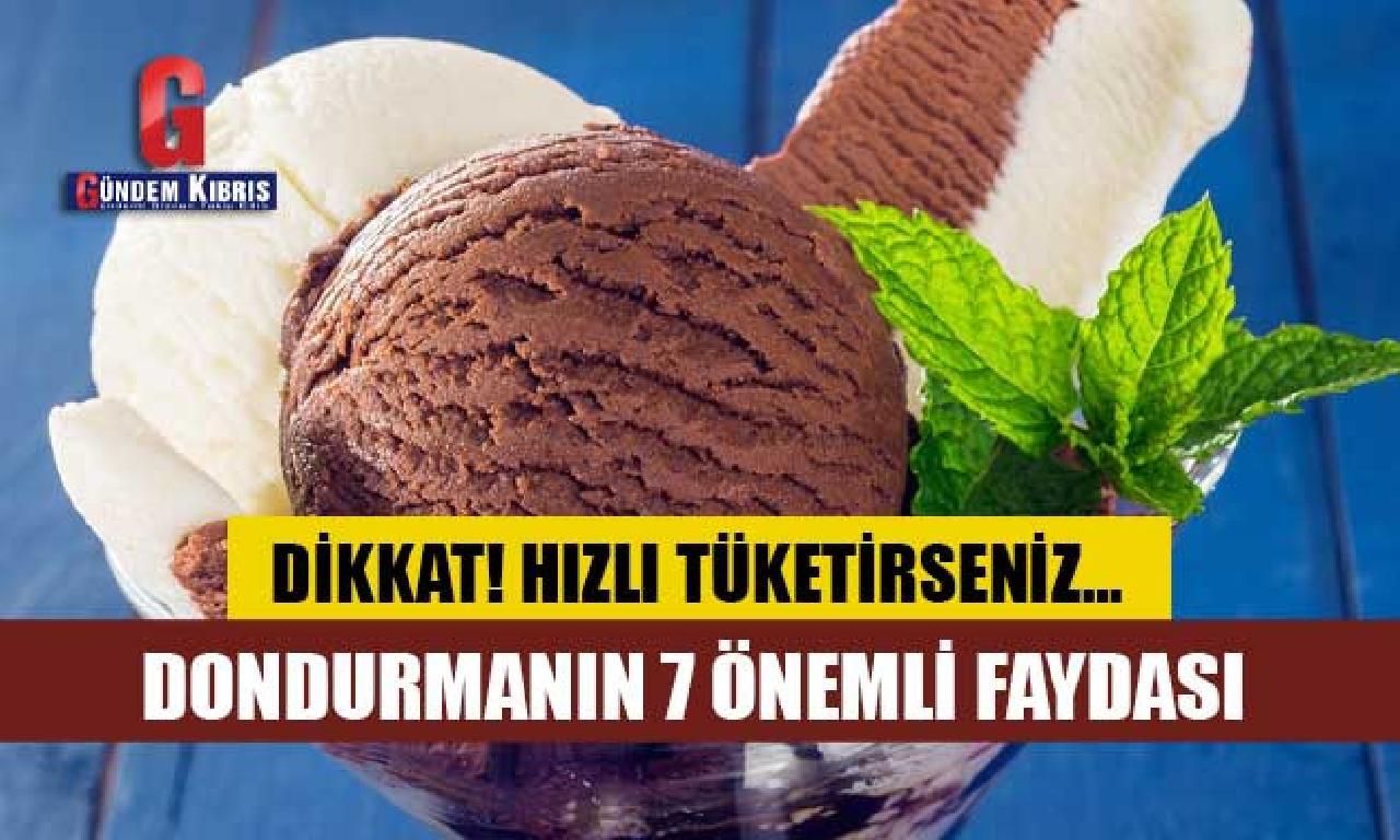Dondurmanın 7 Önemli Faydası