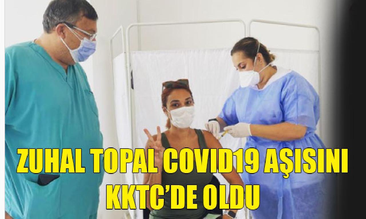 Zuhal Topal KKTC'de aşı evet