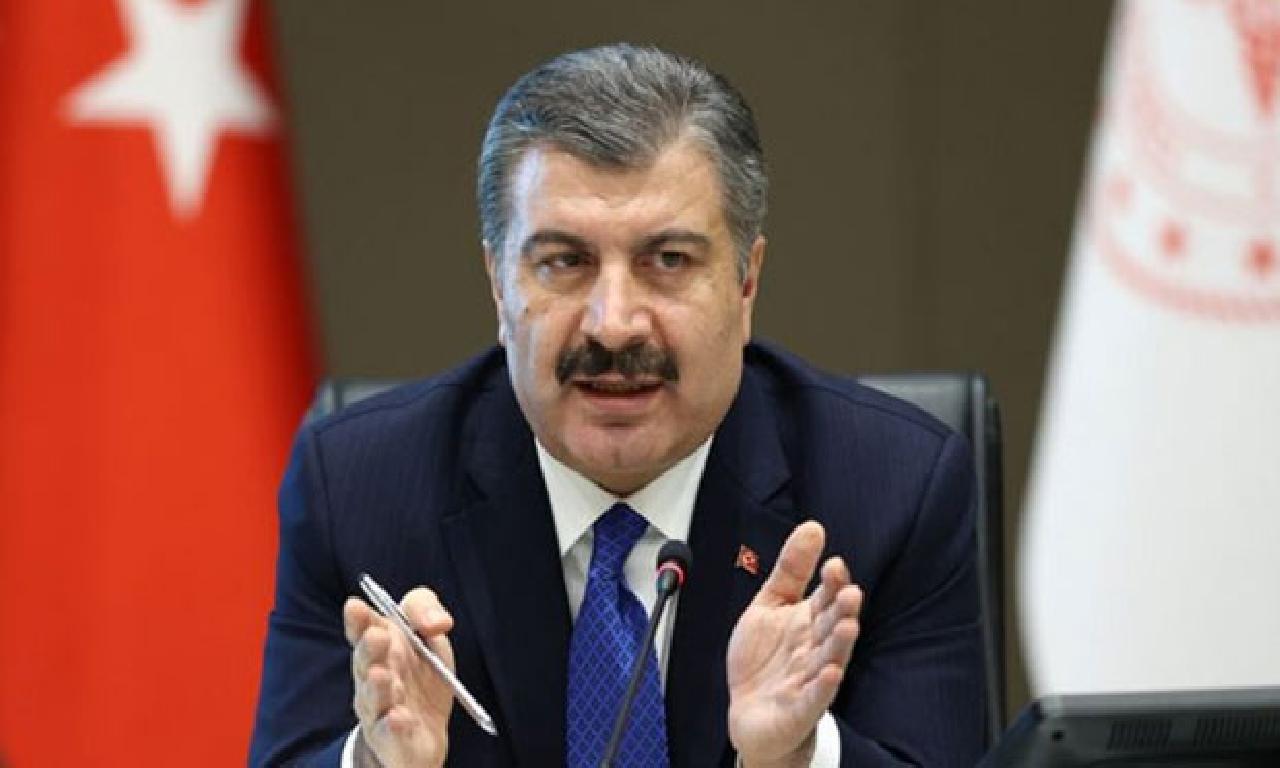 TC Sağlık Bakanı Koca: 20 1000000 570 1000 kişi altu düze aşıyı erteledi