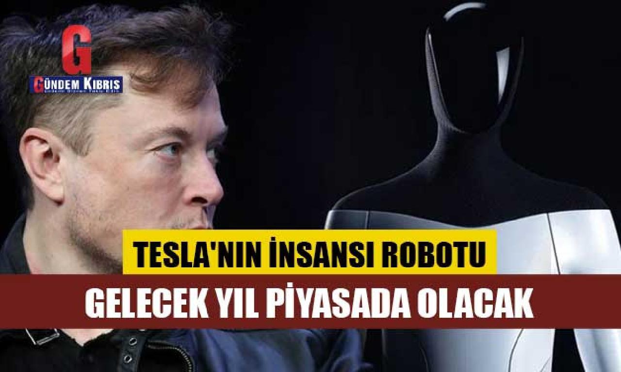 Elon Musk: Tesla'nın insansı robotu olur ki istikbal yıl piyasada olması