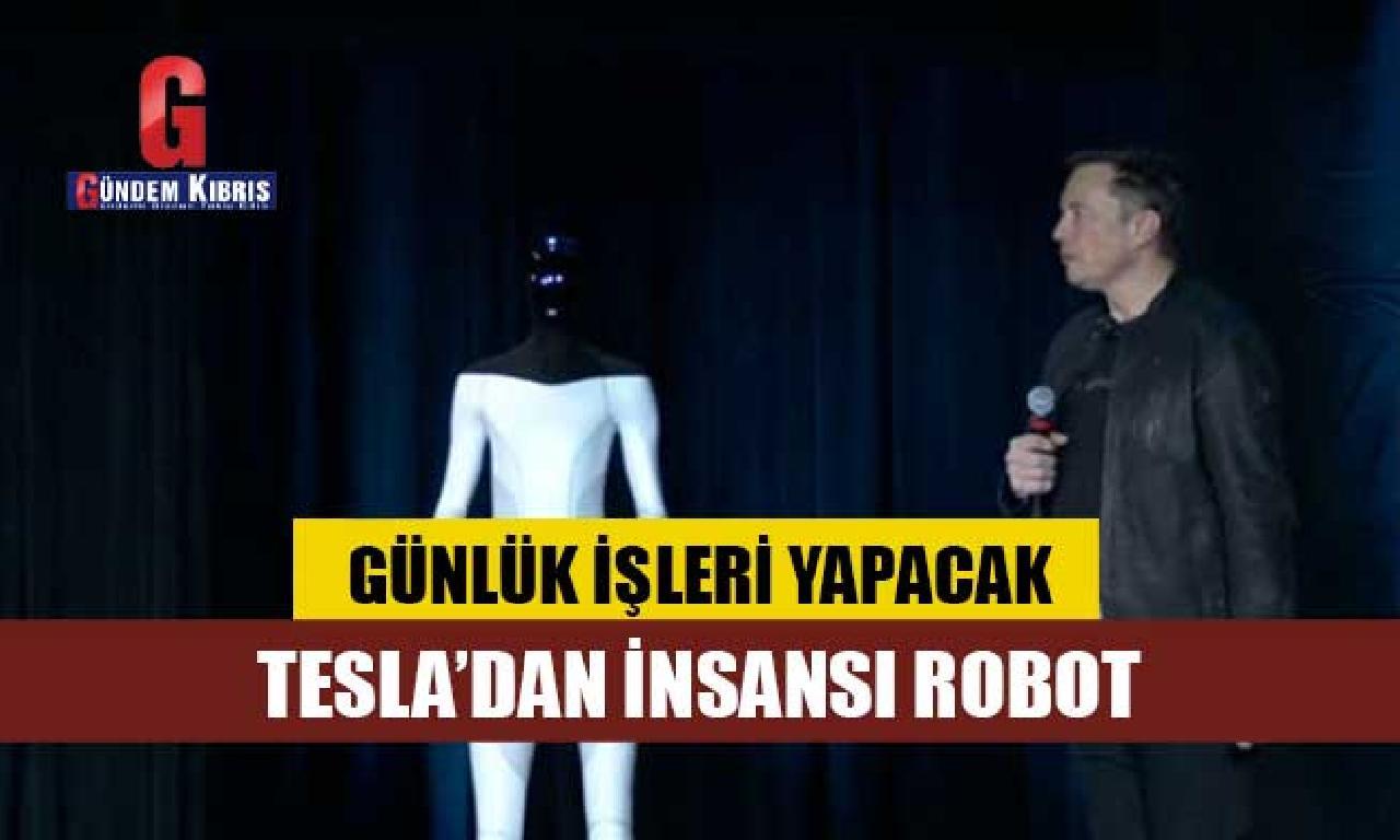 Tesla'dan insansı robot