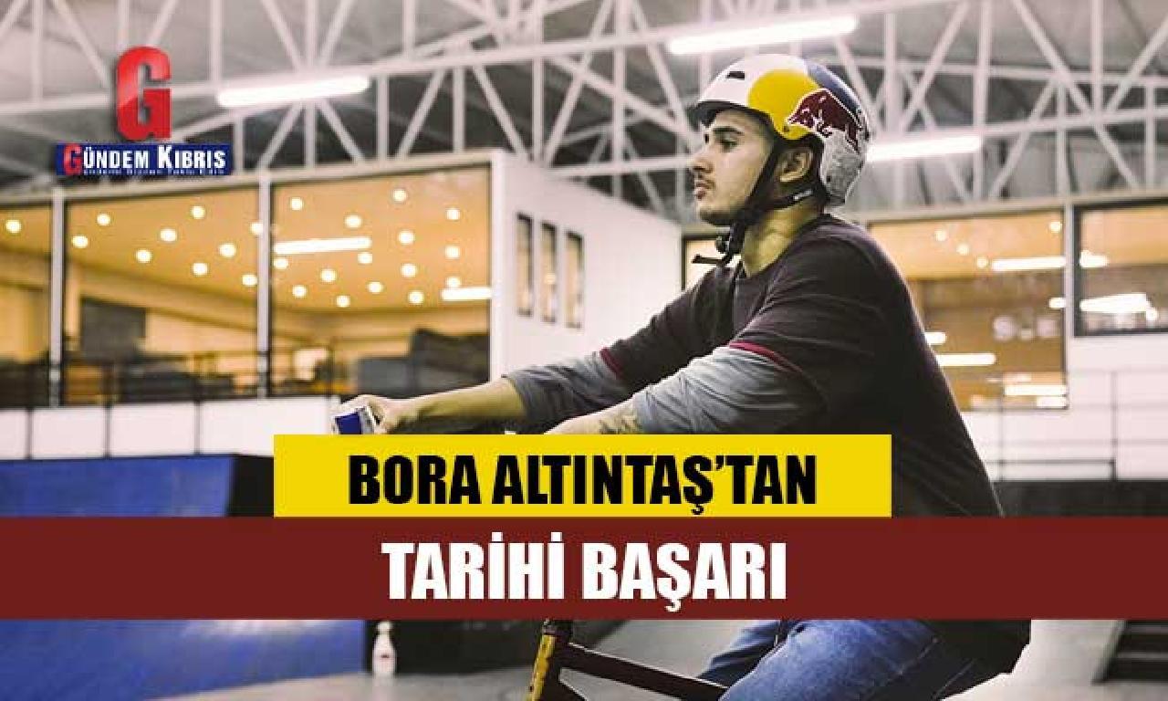 Bora Altıntaş 'Simple Session'da finale artan altu Türk BMX sporcusu namına tarihe geçti