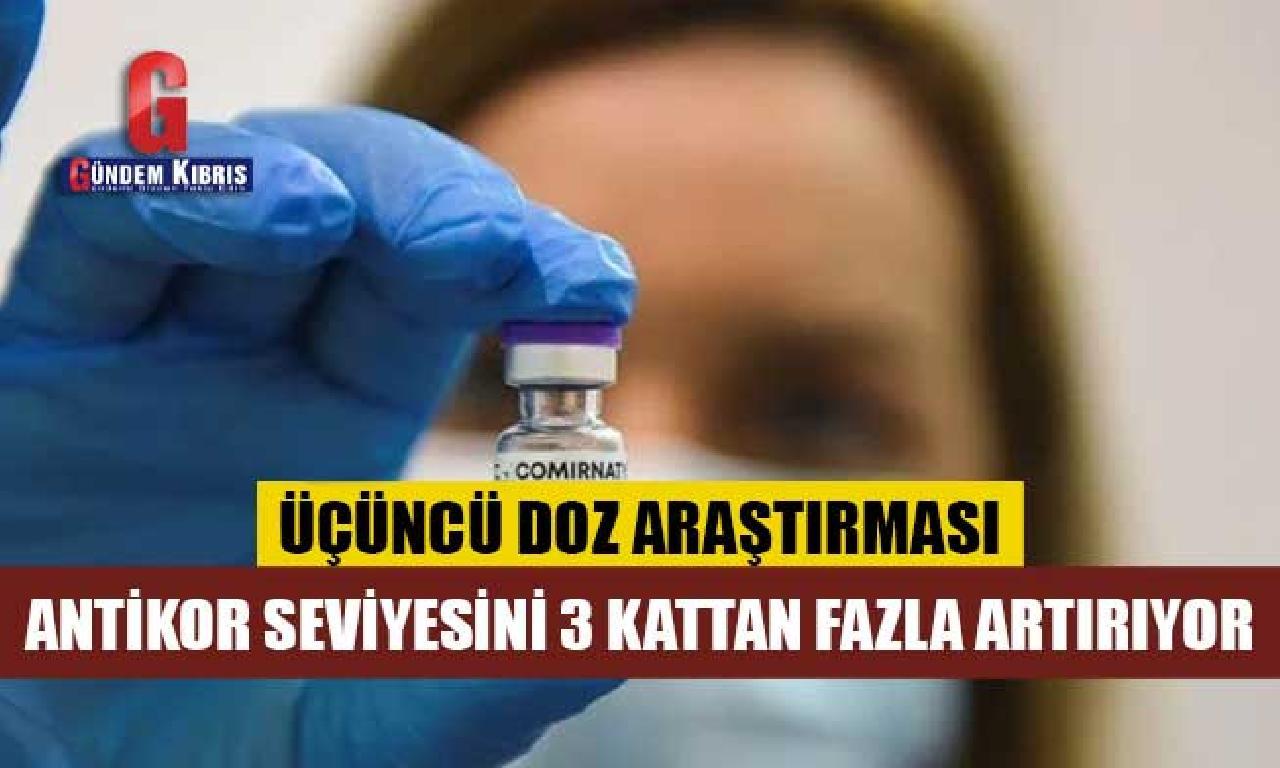 Pfizer: Üçüncü düze aşı antikor seviyesini üç kattan aşkın artırıyor