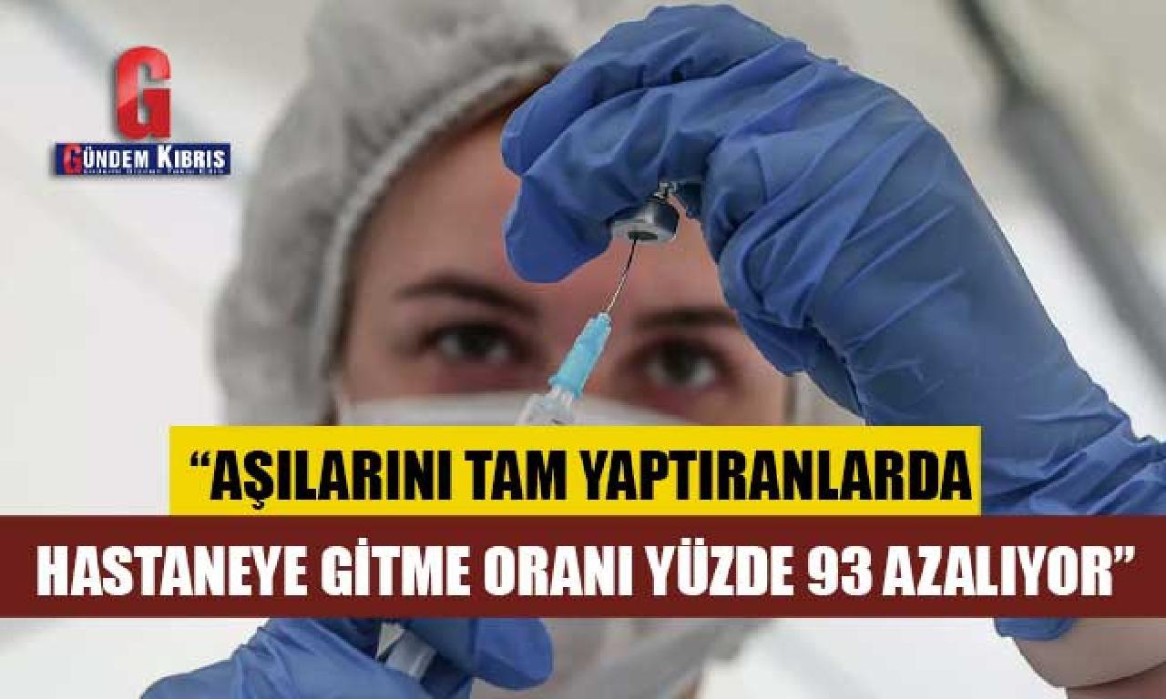 Prof. Dr. Balık: Aşılarını gerçek yaptıranlarda hastaneye rahîl oranı yüzde 93 azalıyor