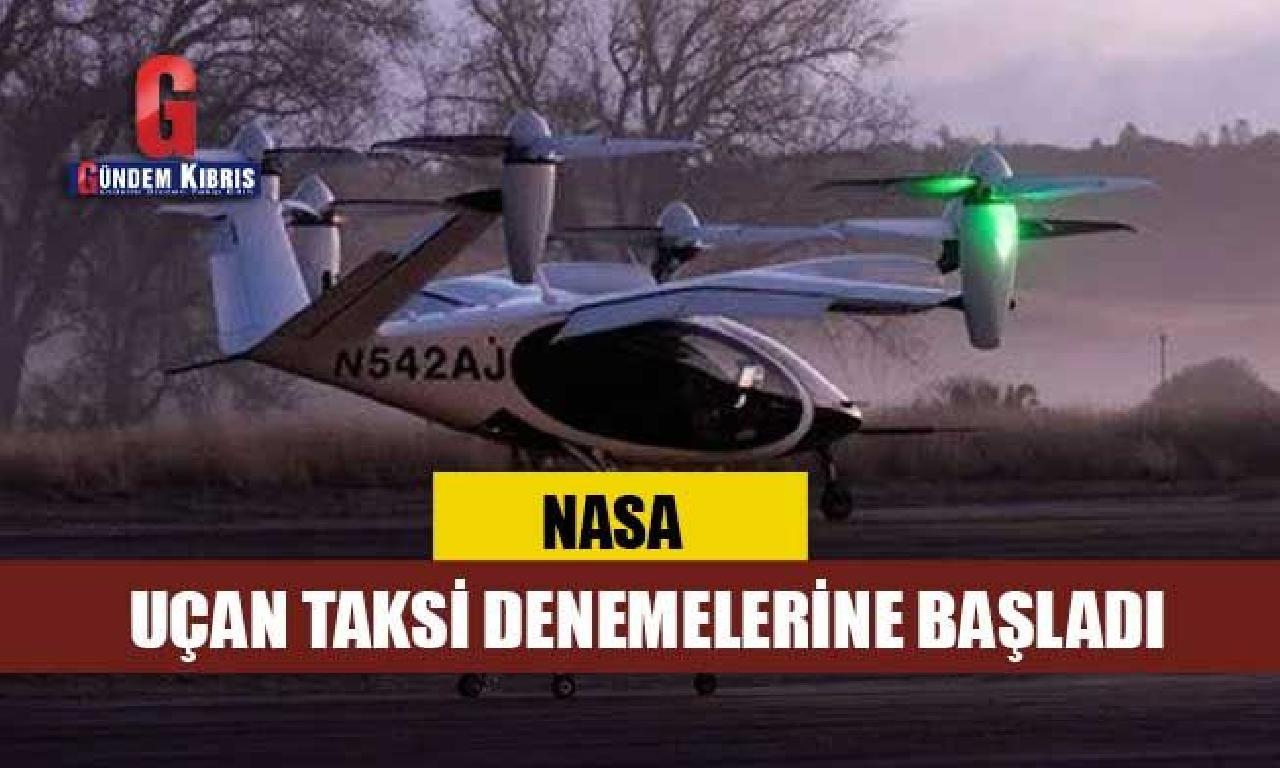 NASA uçan göçüm denemelerine başladı