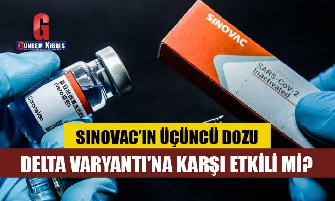Araştırma: Sinovac'ın üçüncü dozu Delta Varyantı'na karşı tesirli mi?