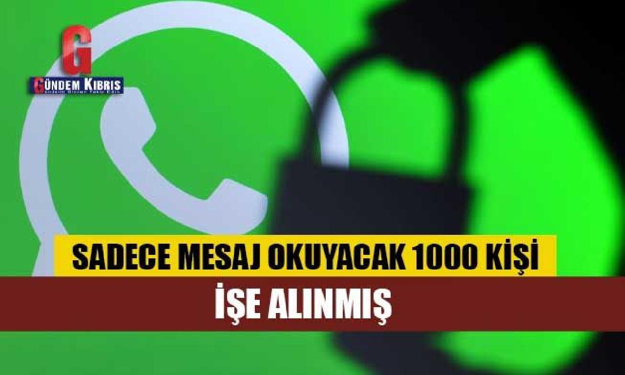Facebook çalışanlarının tüm WhatsApp mesajlarını okuyabildikleri sav edildi!