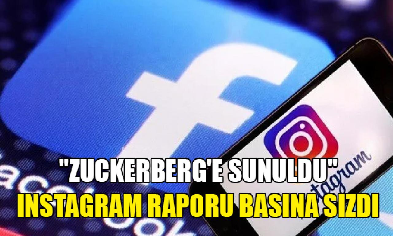 Facebook'un Instagram raporu basına sızdı