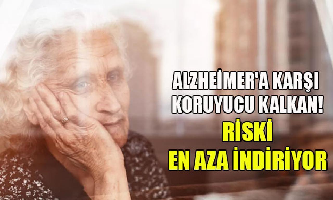 Alzheimer'a karşı gözetici kalkan! Riski genişlik organ indiriyor