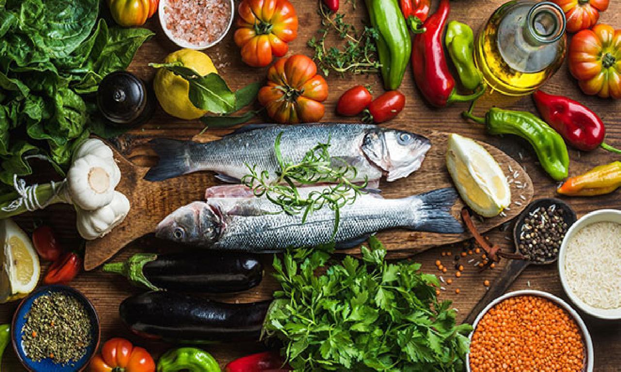 Akdeniz Diyetiyle Sağlıklı Beslenin