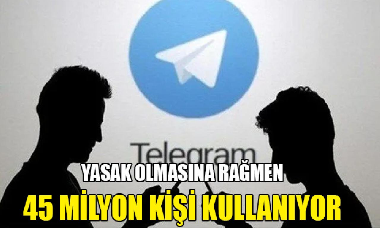 İran'da yasaklanan Telegram'ı 45 1000000 kişi kullanıyor