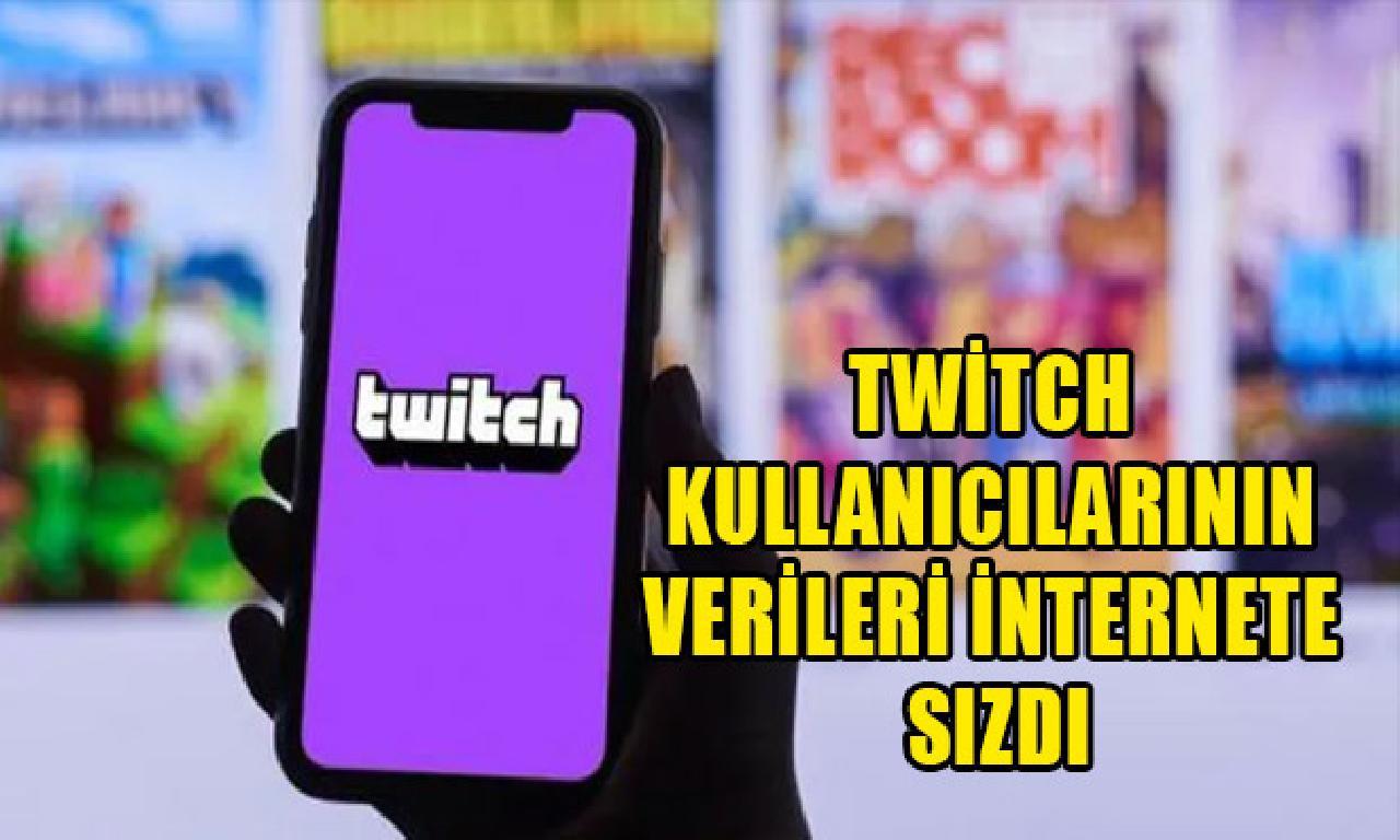 Twitch kullanıcılarının verileri internete sızdı